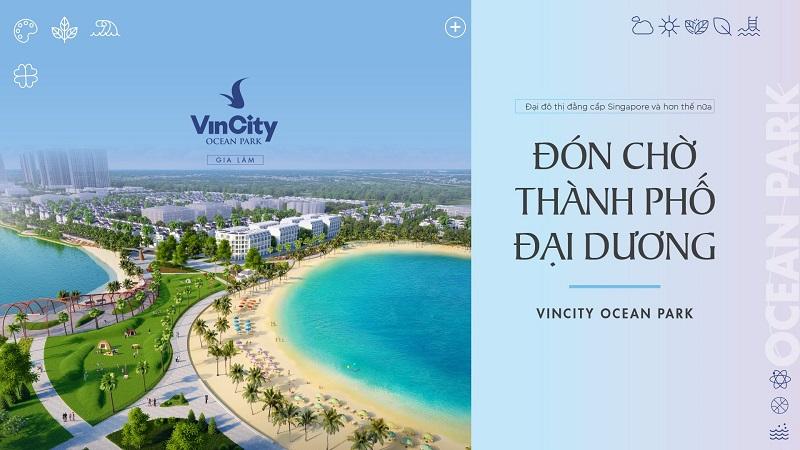 Thành phố đại dương - Vincity Ocean Park Gia Lâm