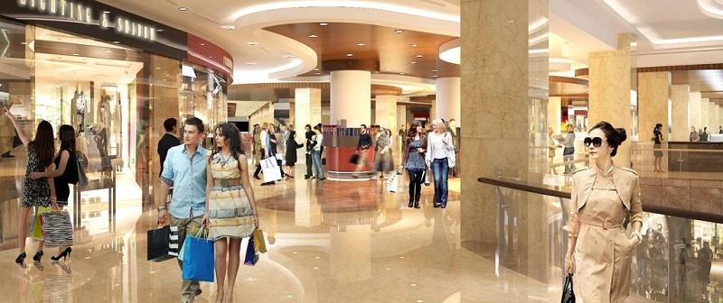 Trung tâm thương mại dự án chung cư Bohemia Residence Nguyễn Huy Tưởng