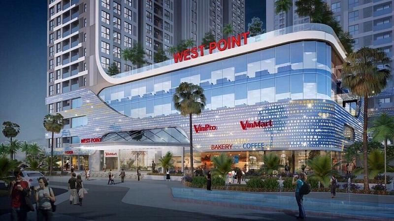 Trung tâm thương mại Vinhomes West Point Đỗ Đức Dục