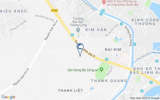 Vị trí chung cư Videc Galaxy Tower Nguyễn Xiển