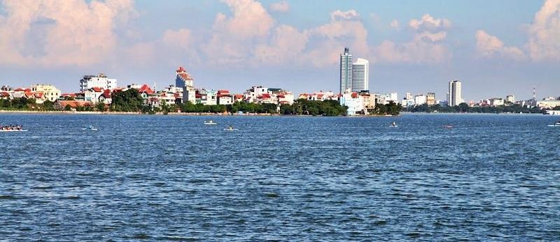 View Hồ Tây từ D El Dorado Phú Thanh Tây Hồ