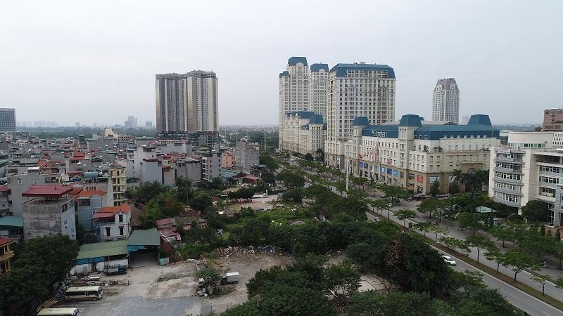 View dự án Chung cư The Sun Mễ Trì - hướng Tây Nam