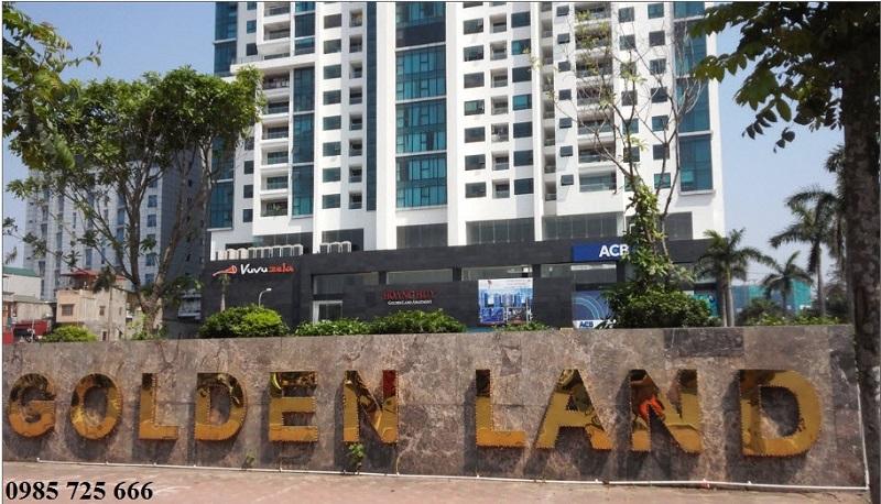 Cổng chính Golden Land 275 Nguyễn Trãi