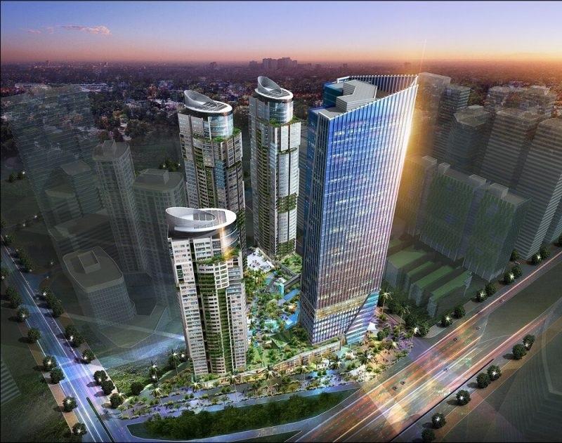 Toàn cảnh chung cư Sungroup Constrexim Complex Cầu Giấy