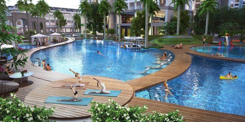 Bể bơi Vinhomes Gardenia Mỹ Đình