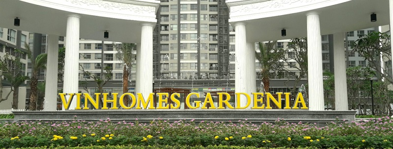 Cổng chào Vinhomes Gardenia Mỹ Đình