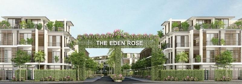 Cổng chào liền kề biệt thự The Eden Rose Nguyễn Xiển