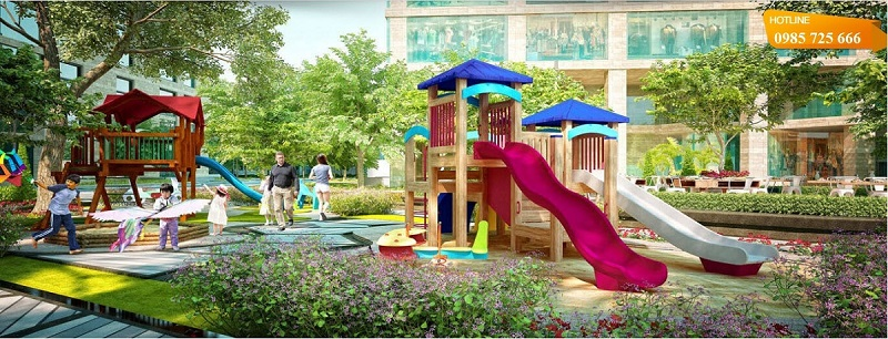 Khu vui chơi trẻ em chung cư Vinhomes Smart City Nguyễn Trãi