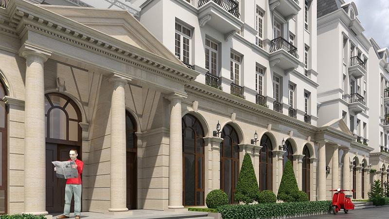 Liền kề biệt thự Grandeur Palace 138 Giảng Võ