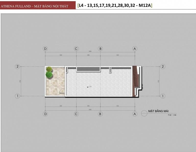 Thiết kế 6 liền kề phân khu Larissa Athena Fulland Đại Kim