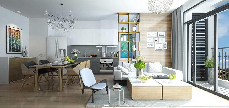 Thiết kế căn hộ chung cư Vinhomes Green Bay Mễ Trì