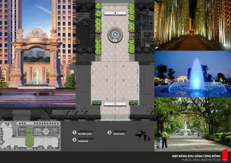 Tiện ích Phân khu Larissa dự án Athena Fulland Đại Kim