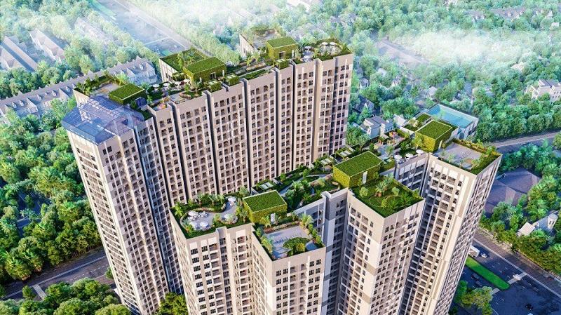 Tiện ích trên tầng thượng Imperia Sky Garden 423 Minh Khai