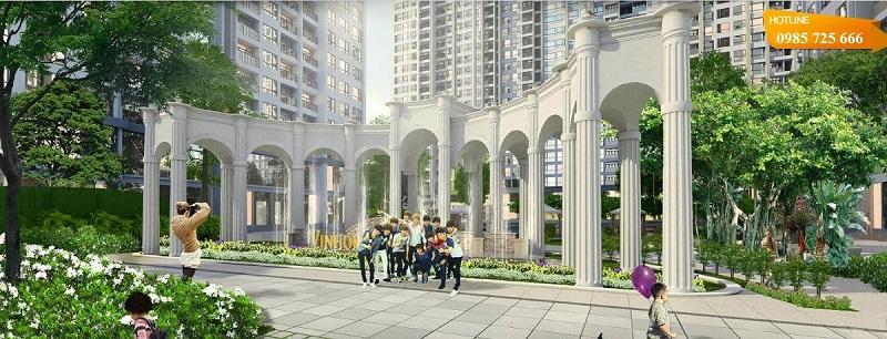 Tiện ích chung cư Vinhomes Smart City Nguyễn Trãi