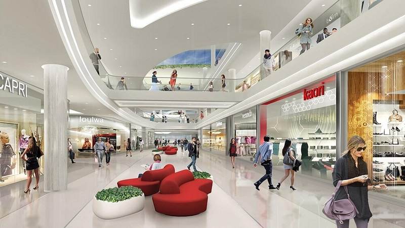 Trung tâm thương mại liền kề biệt thự The Eden Rose Nguyễn Xiển