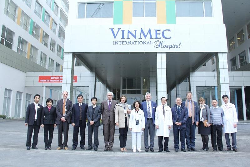 Vinmec chung cư Vinhomes Smart City Nguyễn Trãi