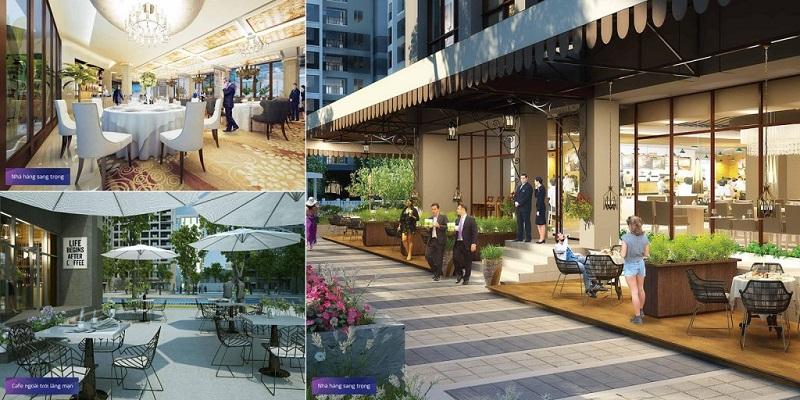 Khu nhà hàng dự án chung cư T&T 273 Tây Sơn
