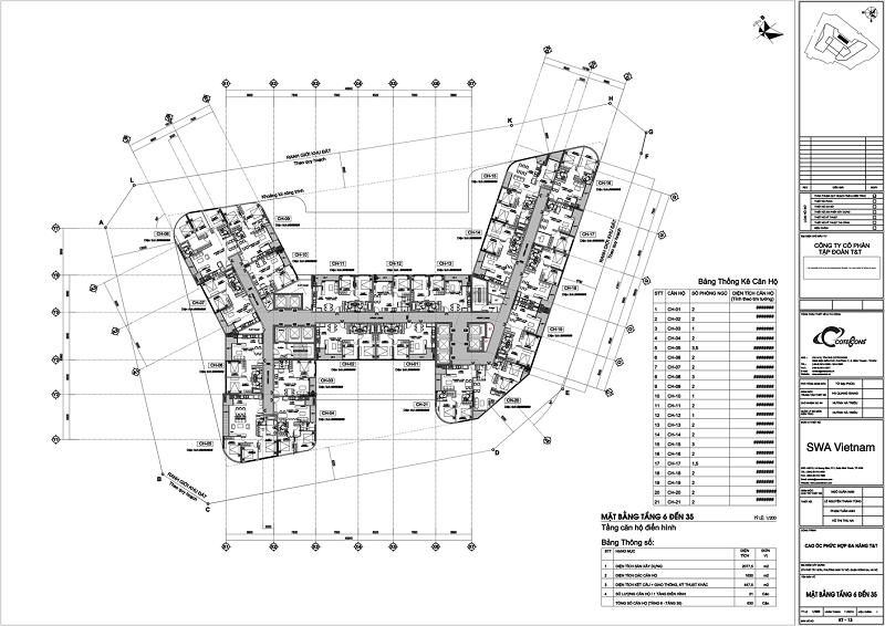 Thiết kế dự án chung cư T&T 273 Tây Sơn