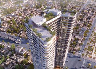 Phối cảnh của dự án chung cư T&T 273 Tây Sơn