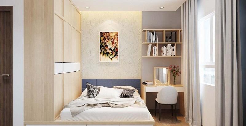 Nội thất phòng ngủ dự án chung cư T&T 273 Tây Sơn
