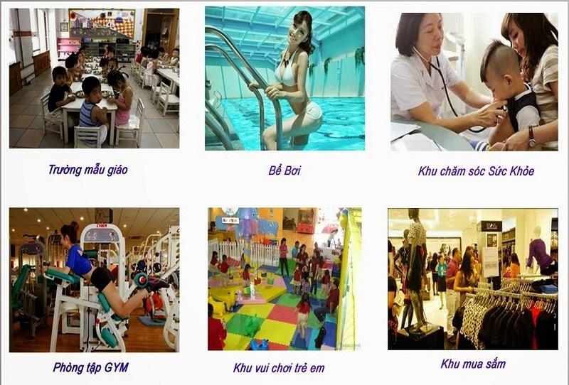 Tiện ích cao cấp dự án chung cư T&T 273 Tây Sơn