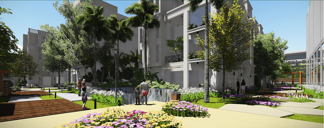 Cây xanh dự án biệt thự La Casa Villa 25 Vũ Ngọc Phan