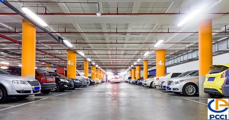 Hầm để xe chung cư PCC1 Thanh Xuân - 44 Triều Khúc