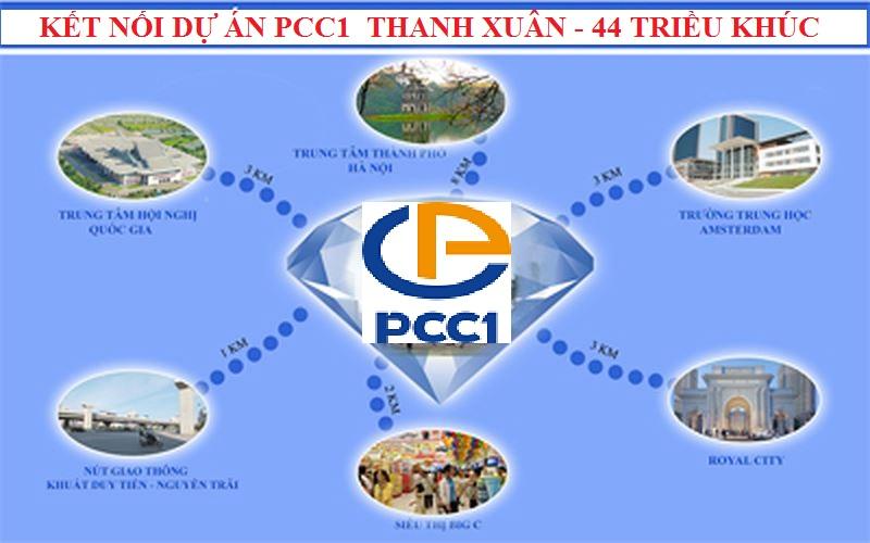 Kết nối chung cư PCC1 Thanh Xuân - 44 Triều Khúc