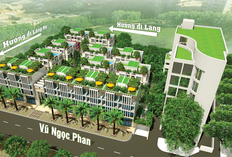 Kết nối giao thông dự án biệt thự La Casa Villa 25 Vũ Ngọc Phan