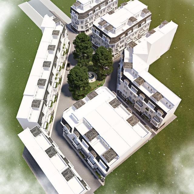 Phối cảnh dự án Nhà Phố 58 Trúc Khê