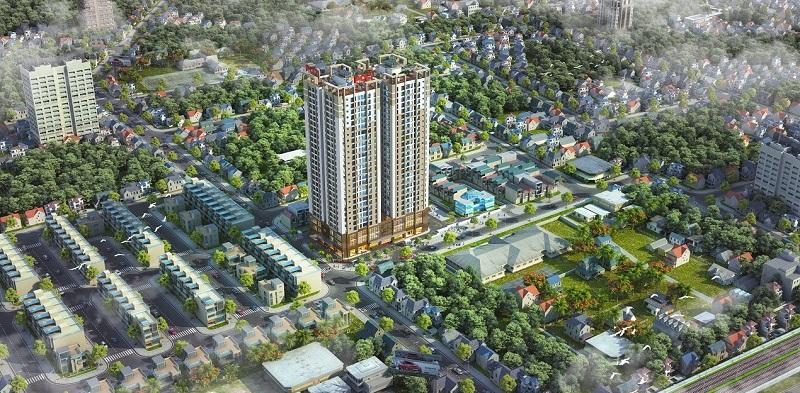 Phối cảnh dự án PCC1 Thanh Xuân - 44 Triều Khúc