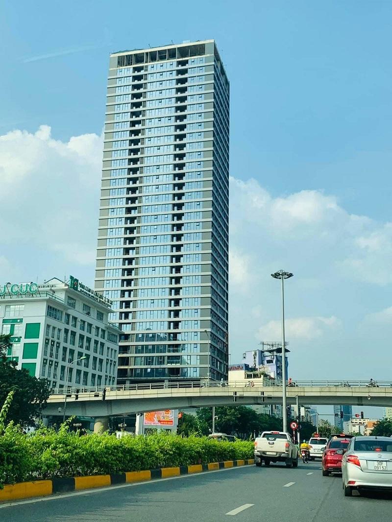 Ảnh thực tế Summit Building 216 Trần Duy Hưng tháng 6/2021