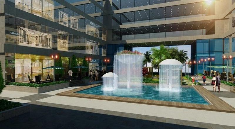 Đài phun nước dự án chung cư Summit Building 216 Trần Duy Hưng