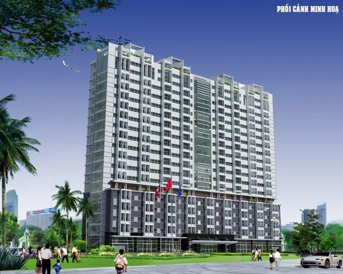 Phối cảnh dự án chung cư C1 Thành Công