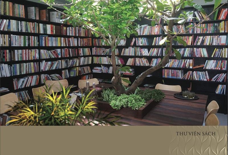 Thư viện sách dự án Núi Trúc Square 17 Ngõ Núi Trúc