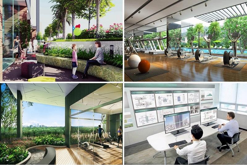 Tiện ích dự án BRG Park Residences 41 Lê Văn Lương