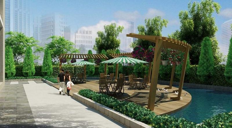 Tiểu cảnh dự án chung cư Summit Building 216 Trần Duy Hưng