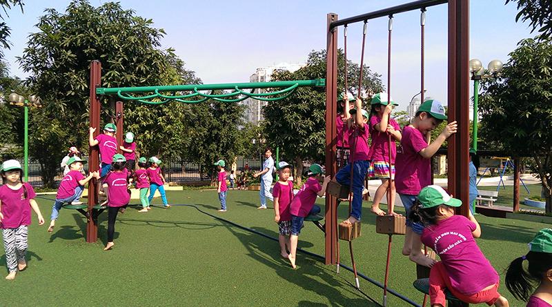 Khu vui chơi công viên Cầu Giấy cạnh dự án chung cư Luxury Park View