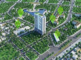 Phối cảnh dự án Luxury Park View Cầu Giấy
