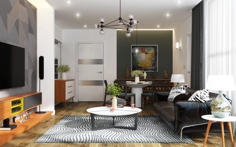 Nội thất căn hộ chung cư C22 Bộ Công An - Dich Vọng