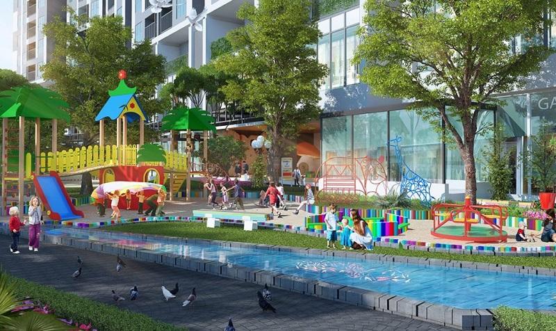Khu vui chơi trẻ em chung cư The ZEI 8 Lê Đức Thọ