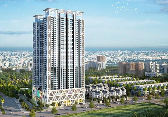 Phối cảnh Mon City giai đoạn 2 - Dự án the ZEI Mỹ Đình - 8 Lê Đức Thọ