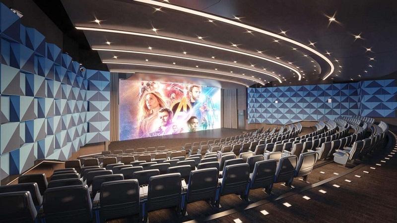 Rạp chiếu phim dự án chung cư The ZEI 8 Lê Đức Thọ