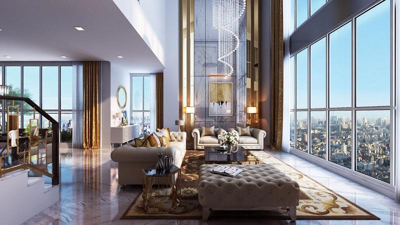 Thiết kế căn hộ duplex dự án the ZEI Mỹ Đình - 8 Lê Đức Thọ