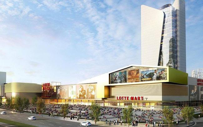 Lotte Mall khu đô thị Ciputra Tây Hồ khởi công