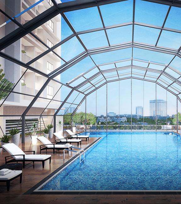 Bể bơi An Bình Plaza 97 Trần Bình
