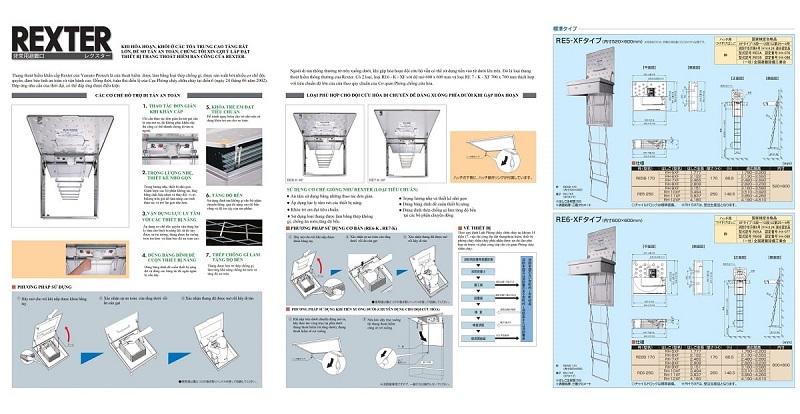 Kết cấu thang thoát hiểm 1 dự án chung cư The Legacy 106 Ngụy Như Kon Tum