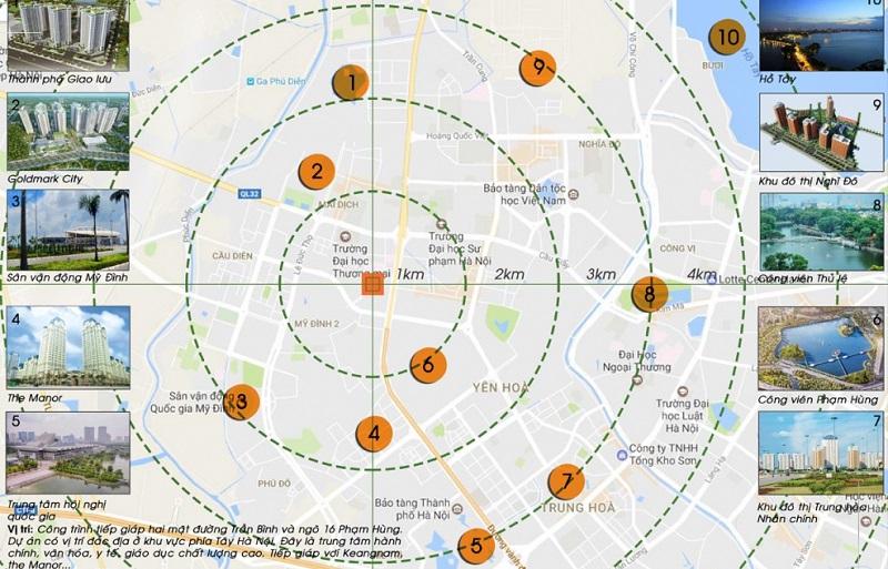 Liên kết vùng An Bình Plaza 97 Trần Bình