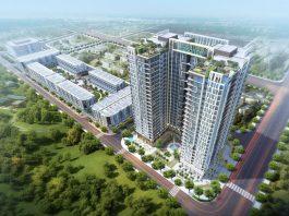 Phối cảnh dự án 93 Đức Giang - Plaschem Park Long Biên