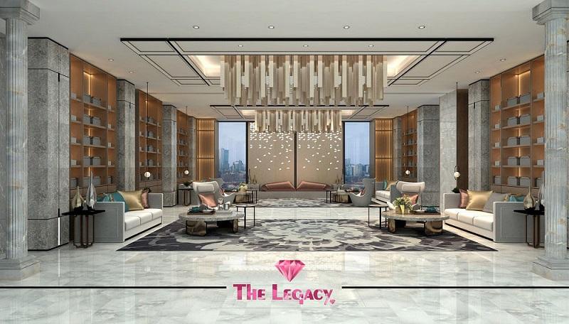 Sảnh căn hộ chung cư The Legacy 106 Ngụy Như Kon Tum